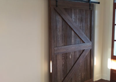 dark-brown-gray-door