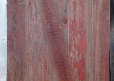 faded red door1